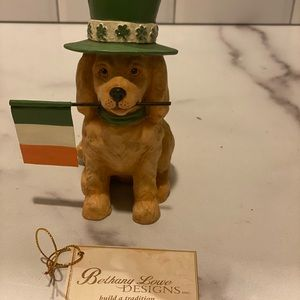 Brand new Saint Patrick dog from Bethany Lowe